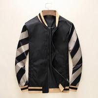 Herren Designer Kapuzenjacken Windjacke Sportkleidung Neue Frühling Herbst Casual Jacke Kleidung Reißverschluss Kragen Plaid Gedruckt Slim Jacket Q01