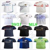 Camisa 20 21 MLS Inter Jersey Miami del fútbol Los Angeles Galaxy FC Toronto Atlanta Estados Cincinnati Seattle Nueva York Hombre Fútbol
