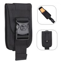 Borse da esterno Tactical Telefono Pouch Doppio strato Scheda Holster Molle Smartphone Uomini Belt Belt Seaist Bag Utility Gadget Gadget Tool1