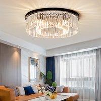 Moderne LED-Deckenleuchten für Wohnzimmer Schlafzimmer Arbeitszimmer Raum Crystal Glanz plafonnier Home Deco Deckenleuchte avize