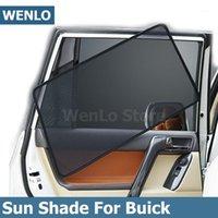 Magnetic Car Later Side Sunshades Cover malha para gl6 gl8 excelle enclave Envio Encore Regal Auto Sun Shade Cortina1