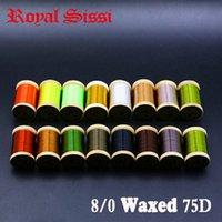 Royal Sissi 15colors صغير خشبي تخشيم الطيران ربط الموضوع 8/0