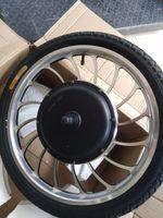 """BLDC 20 pouces 36V 48V 1000W lecteur avant lecteur arrière moteur de scooter moteur moteur roue moteur 20 """"vélo pour pneu gonflable de pousse-pousse électrique"""