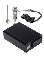 유리 봉 용 티타늄 손톱 DIY 흡연자 E 네일 20mm 코일 Enail D 네일 Dnail 전자 온도 컨트롤러 박스