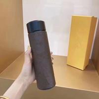 Digitalanzeige Isolierbecher Vakuumflaschen Thermos Edelstahl Isolierte Thermoskasse Kaffeetassen Reisen Drink Flasche
