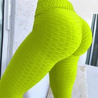 2020 Designers Gym Women's Gym Yoga Fitness Pantalon Fashion Mode Sexy Taille haute Taille Push Up Pantalons de Yoga Jacquard Skinny Sport Leggings F92901