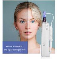 USA Stock Micro Nadel Therapie Anti Falten Hautpflege Nichtinvasive Haut Anziehen Verneblereinspritzstift Schönheitsausrüstung