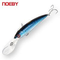 Noeby Trolling Fishing Lure 5-8Mフローティングスーパーミニョウ9046クランクバイツ3倍VMCトレブルフックハードベイト釣りタックル201111