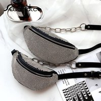 Real Genuine Leather A Grade Rhinestone Crossbody Messenger ...