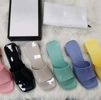 Kaliteli Kadın Terlik Moda Plaj Kalın Alt Terlik Platformu Alfabe Lady Sandalet Deri Yüksek Topuk Slaytlar Terlik Shoe02 02