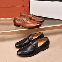 2021 High Quality Shoes Luxury Scarpe da uomo Mocassini Classic Tassel Wedding Party Shoes Shoes Plus Uomo Flats Designer Driving Dress Shoes Black