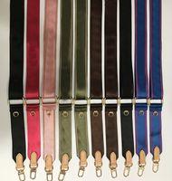 1 acessórios de PECs Cintas de ombro para jogo 3 peça conjunto de flores antigas saco crossbody peças de lona cinta venda 6 cores rosa preto verde azul marrom vermelho