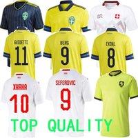 2021 Швейцария Футбол Джерси Швеция Suisse Чешская Республика Sow Behrami Embolo Seferovic Ibrahimovic Футбольные футболки Униформа