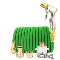 Vendita calda Acqua pistola tubo flessibile retrattile Giardino Giardino Giardino regolabile Ugello UE Alta pressione Tubo di alimentazione ad alta pressione Lavanderia Giardino Sistema annaffiatoio 201110