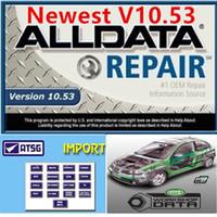 2020 Hot Auto Repair Soft-Ware AllData 10.53 Toutes les données Soft-Ware dans 750 Go HDD USB 3.0 FIT pour les systèmes Windows 7/8/10