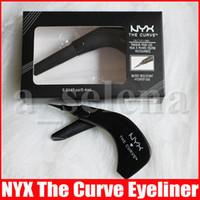 NYX Eyeliner LA COURBE Arc Creative Eyeliner Peinture ère Liner Combinaison résistant à l'eau longue durée facile à porter Liner