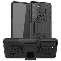 Pour iPhone 12 Pro Max Samsung Galaxy S21 Ultra Remarque 20 cas LG Stylo 6 Armure hybride Armure de Kickstand Titulaire TIRE Couvertures de téléphone