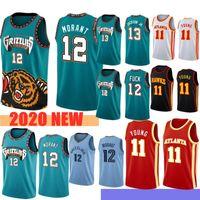 NCAA JA 12 Morant Trae 11 Junge Jaren 13 Jackson Jr. Männer Basketball-Trikots S-XXL 2021 Outdoor Appare