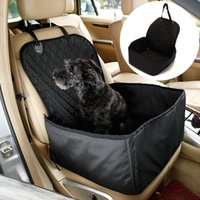 Auto Seat Cover Basket Addensare Carrier Travel Safe Safe Multifunzionale Black Pet Dog Pieghevole Pieghevole Front Row Cat impermeabile