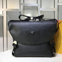 Классического мешок плеча мужчины Кроссбоди мешок Casual мода сумка мужской кожи реального холста тотализаторы сумочек размер человек 38X28X10cm 32X23X9cm