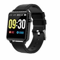 Winsun tactile écran Smart Montre Smart Montre Intellente Hommes RC01 Pour Apple Montre Android IOS Tendeur cardiaque Moniteur SmartWatch Hommes
