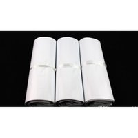 45 * 55 cm Beyaz Kendi Kendini Mühür Posta Çantası Plastik Zarf Kurye Po Sqcnru DH_Seller2010