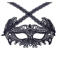 Маска черная сексуальная леди кружева маска мода полый глаз маска маскарады партия причудливые маски Хэллоуин венецианская партия вечеринка Co Jlldsy Eatout