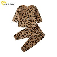 Ma&Baby 0- 12M Infant Newborn Baby Boy Girl Leopard Sleep Set...