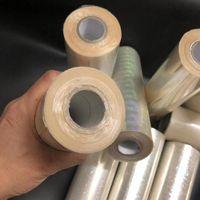 Rotoli di carta di stampaggio a caldo trasparente olografico 120m rotoli di carta per laminatore Trasferimento termico della scheda della stampante laser Carta artigianale 2 JllyCF