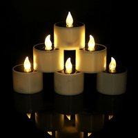 شمعة الشمسية مصابيح عديمة اللهب بالطاقة الشمسية أدت شمعة أضواء فناء الديكور الشمسية أدى أضواء الشاي لحفلة الزفاف عيد