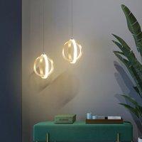 Pendentif LED pour chambre à coucher Moderne Creative Petit lustre suspendu dans la salle de cuisine Nordic Home Deco Light Fixture