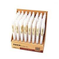 60 stücke Niedliche Kawaii Kunststoff Klar Maschinen Bleistift Transparent Einfache Automatische Bleistifte für Kinder Koreanisches Schreibwaren Großhandel1