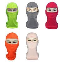 Balaclavas al aire libre Cuello deportivo Cuello Cara Mascarilla Ski Snowboard Wind Cap Police Cycling Balaclavas Motorcycle Face Masks