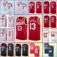 NCAA 13 James HoustonRoket 0 Russell Harden 34 Hakeem Westbrook olajuwon erkekler çocuklar basketbol formaları czz