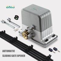 Сверхмощные 1800 кг Автоматические раскладные ворота двигателя Сладочный состав с 4 м нейлоновые стойки (лампа, фотоэлемент, клавиатура, кнопка опционально) 1