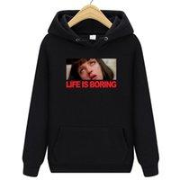 Vêtements de marque La vie est ennuyeuse Sweat à capuche Nouveaux hommes Casual Hommes Sweatshirts Sweatshirts imprimés Pull à capuche Coton S-XXXL