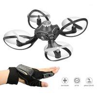 Mini Gesto Induzione Drone Telecamera Telecomando Elicottero Elicottero Four Axis Drone 2.4G Pieghevole Pieghevole Pieghevole Giocattolo per bambini Gift1