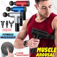 Muskulatur Massage Gun Hals Muskel Massager Schmerztherapie für Körpermassage Entspannung Schmerzlinderung
