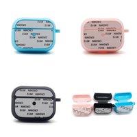 Auriculares en blanco de sublimación cubren a prueba de agua Multi Color Bluetooth Auricular Caja protectora portátil Portátil Funda Moda 6 5EX P2