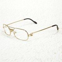 Tamanho pequeno quadro de metal óculos de sol lendo óculos para homens vintage óculos mulheres encher tons de prescrição c