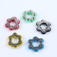 Cadeia de bicicleta Fidget Spinner pulseira de pulseira aliviar para autismo e adhd fidget brinquedo anti estresse brinquedo para adultos crianças festa de festa