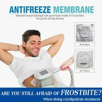 Enfriar la criolipólisis Anticongelante Anticongelante membranas Zeltiq Pad Precio / Crio lipólisis anticongelante de membrana para la grasa de la máquina de congelación