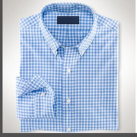 2021 Otoño Invierno Mens Designer Oxford Vestido Camisa de manga larga para hombre Camisas de cocodrilo Casual Casual Moda EEUU Marca RL Polo Camisas
