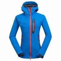 Toptan Bayanlar Açık Ceketler ve Sıcak Kayak Ceket Bayan Daha Kalın Açık Eğlence Kamp Yürüyüş Jackets-2L