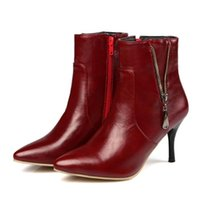 Shoes Women' s Mid Calf Boots Booties Woman 2020 High He...