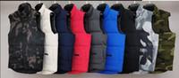 2020 Fashion Marke Mens Winter-Weste Luxus klassische Daunenweste Designer Parka Mäntel dicke Jacke Solide Zipper Sleeveless Top-Qualität 20091201T