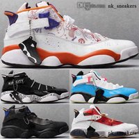 baskets trainers 46 basketball 6s 12 zapatillas 38 women big kid boys scarpe men classic 6 rings size us shoes Sneakers jumpman eur RETRO