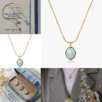 OEII Chrinseon Closed Crystal Waterdrop Серьги и ожерелье из ожерелья ожерелье из шерки