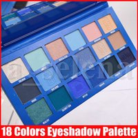 Five Star Eye Makeup Palette 18 cores Blue Blood Matte Shimmer Pigment Eyeshadow Sombra Pressionado Paletas