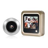 Türklingel 2,4 Zoll digitale Videoaugen Peephole Tür Viewer LCD-Sicherheitskamera-Monitor Home Smart Doorlbell Cam